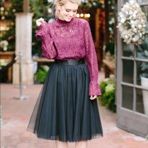 Dresses & Skirts - High waisted tulle tutu skirt sz xs